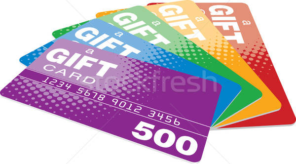 Gift Cards Stock photo © almagami