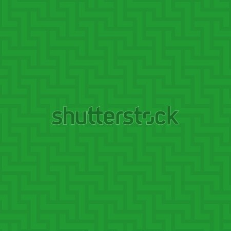 Neutral geometric seamless green pattern Stock photo © almagami