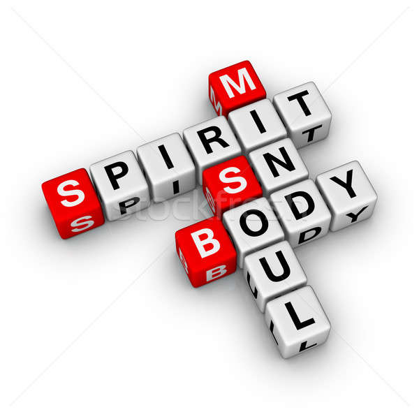 spirit, soul, mind, body Stock photo © almagami