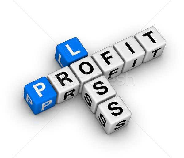 loss and profit Stock photo © almagami