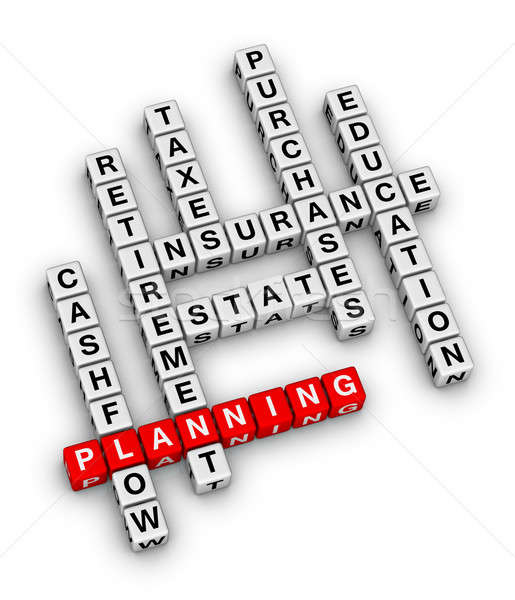 personal financial planning Stock photo © almagami