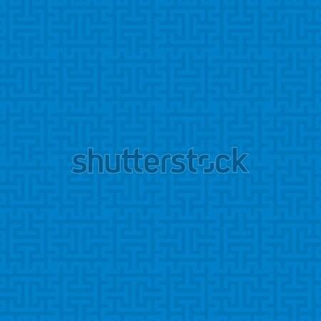 Nötr stil vektör web mavi Stok fotoğraf © almagami