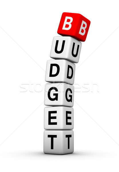 budget breakdown Stock photo © almagami
