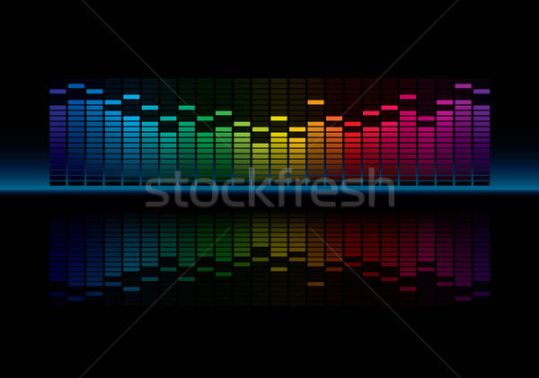 Graphic Equalizer Stock photo © almagami