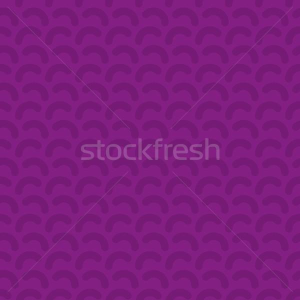 Linhas sem costura vetor padrão neutro roxo Foto stock © almagami