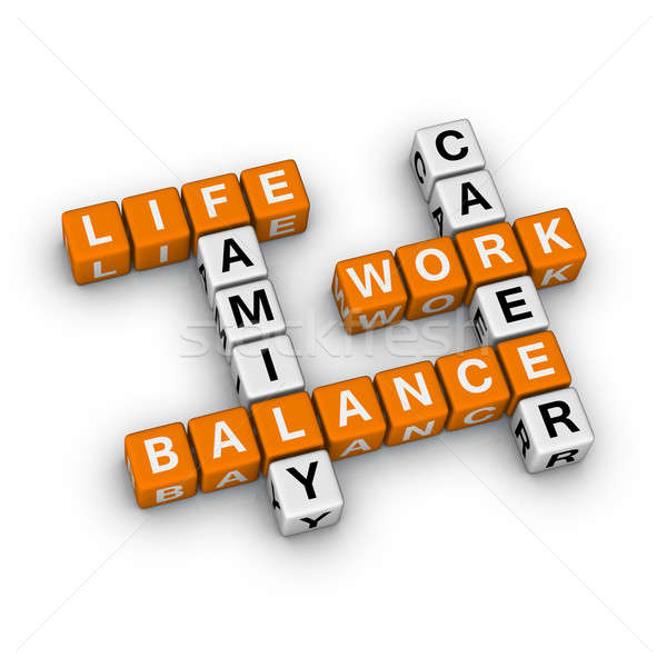 Work and Life Balance Stock photo © almagami