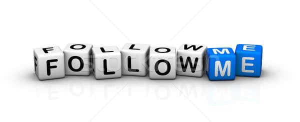 follow me! Stock photo © almagami