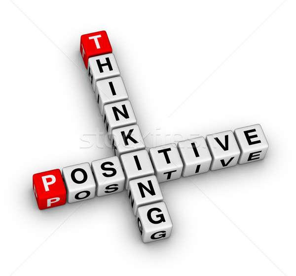 Positive thinking Stock photo © almagami
