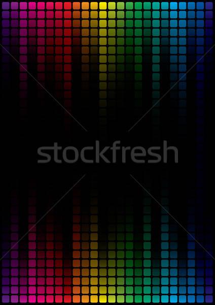 графических эквалайзер отображения название страница дизайна Сток-фото © almagami