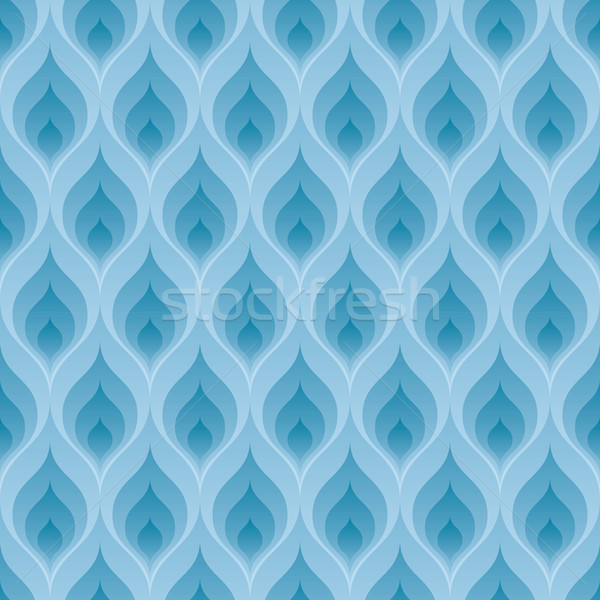 Blue flame pattern Stock photo © almagami