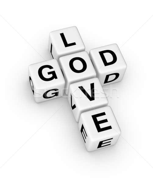 God is Love Stock photo © almagami