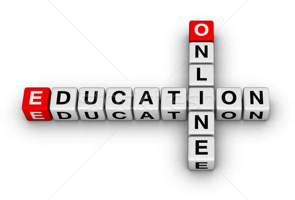 online education Stock photo © almagami