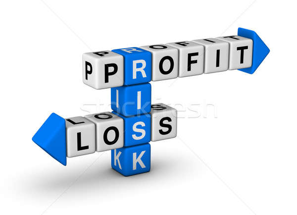 Risk - Profit and Loss Stock photo © almagami