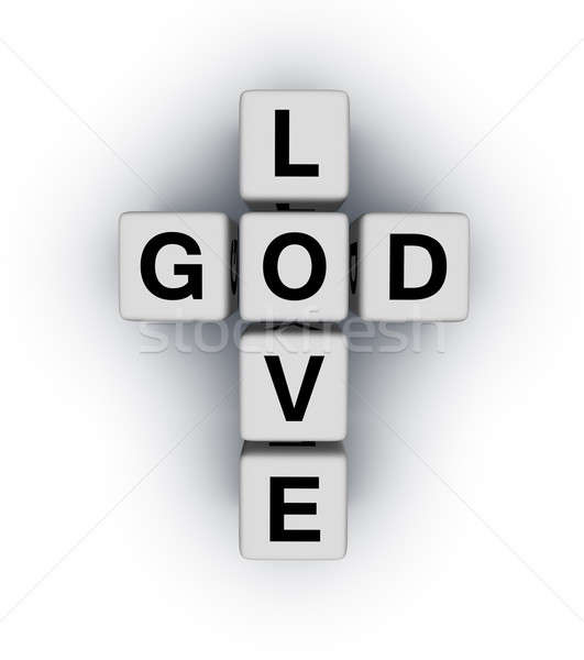 God is Love Stock photo © almagami