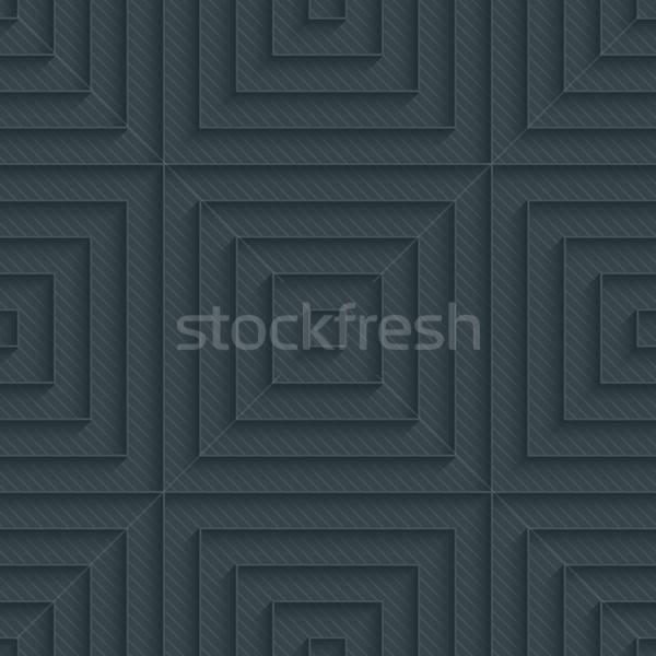 Sötét papír skicc hatás 3D végtelenített Stock fotó © almagami