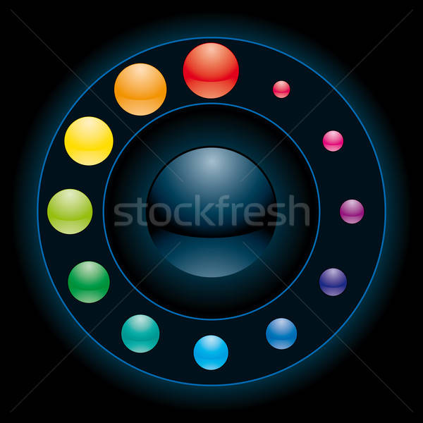 interface element Stock photo © almagami