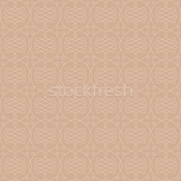 Neutralny bezszwowy liniowy wzór geometryczny Zdjęcia stock © almagami