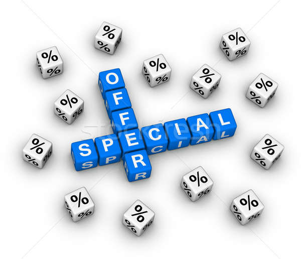 special offer Stock photo © almagami