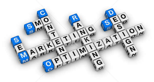 website marketing crossword Stock photo © almagami