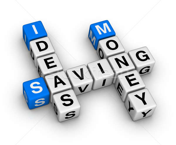 ideas saving money crossword Stock photo © almagami