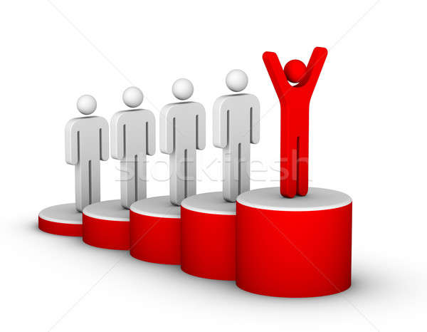 Ladder of Success Stock photo © almagami