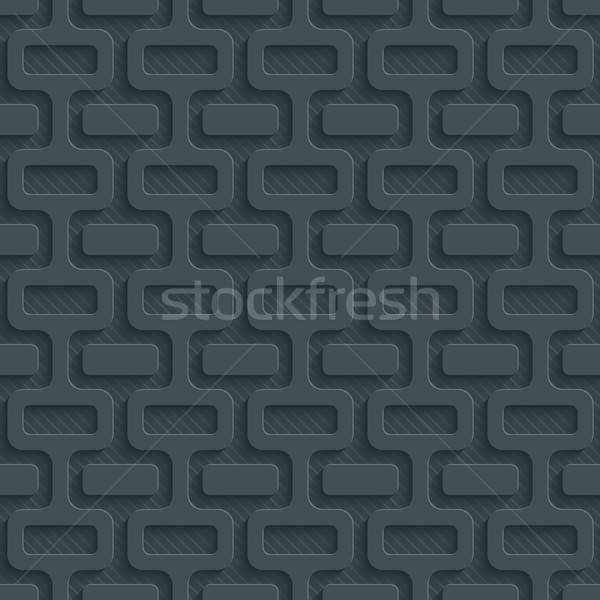 Karanlık kâğıt etki soyut 3D Stok fotoğraf © almagami