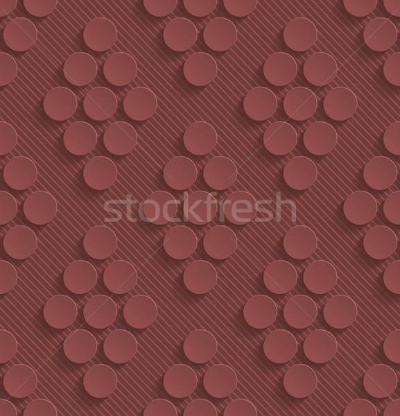 Renk kâğıt etki soyut 3D Stok fotoğraf © almagami