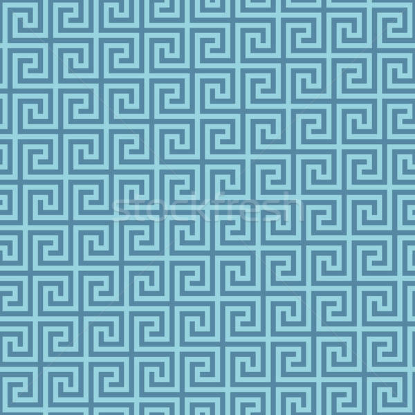 Classic meander seamless pattern. Stock photo © almagami