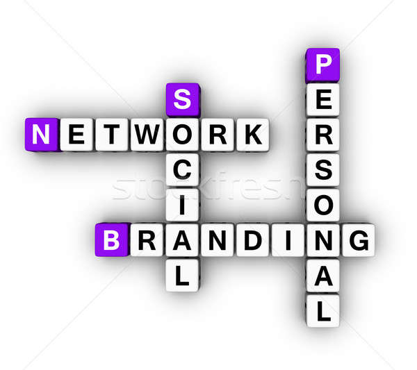 Personal Branding Social Network Stock photo © almagami