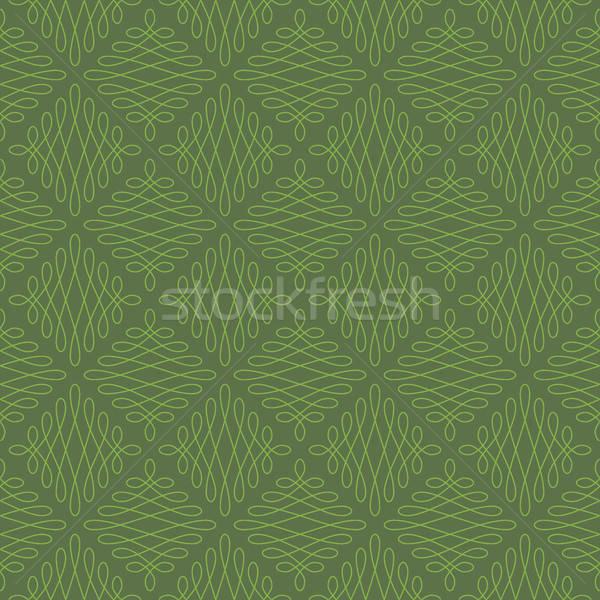 Neutro senza soluzione di continuità lineare fiorire pattern geometrica Foto d'archivio © almagami