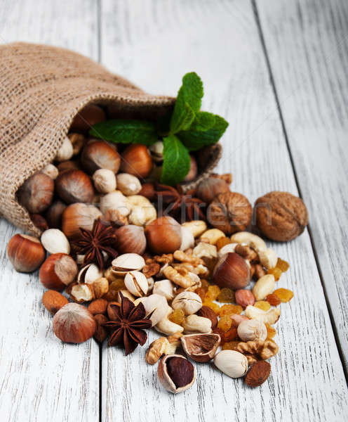 different types of nuts Stock photo © almaje