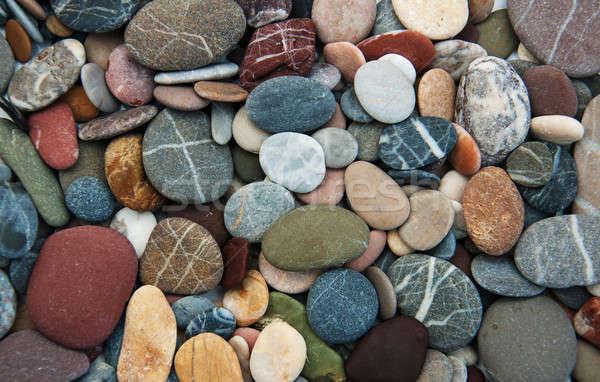 Cailloux mer nature design fond été Photo stock © almaje