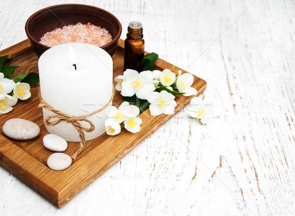 Flor natureza corpo medicina Foto stock © almaje