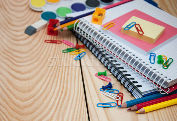 School supplies Stock photo © almaje