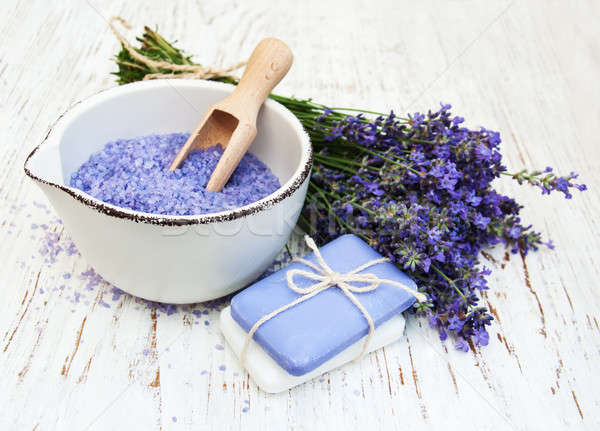 lavender spa Stock photo © almaje