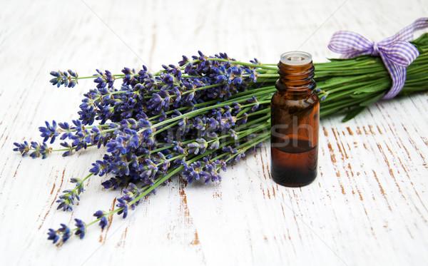 Lavender spa Stock photo © almaje