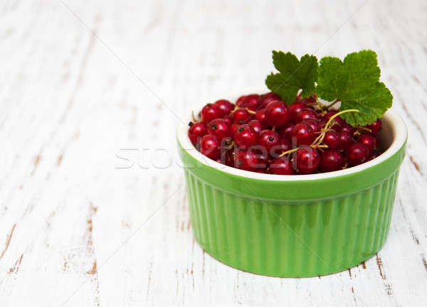 fresh red currant   Stock photo © almaje