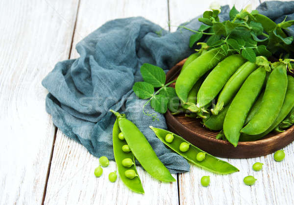 green peas on a table Stock photo © almaje