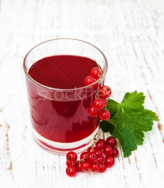 Verão beber vidro fruto fundo Foto stock © almaje