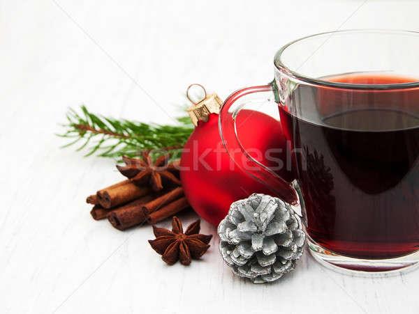 mulled wine Stock photo © almaje