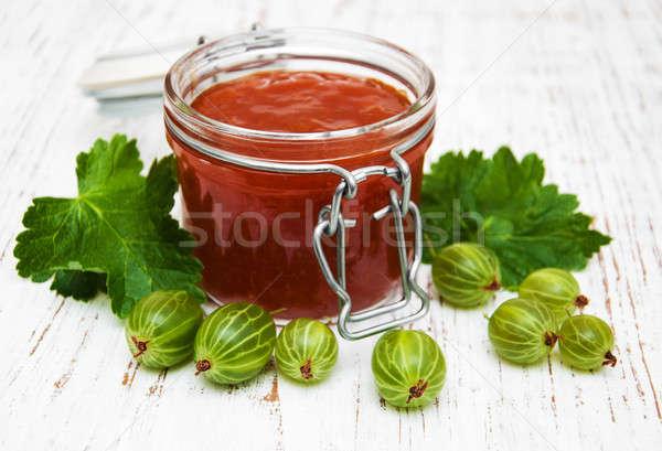 gooseberry jam Stock photo © almaje