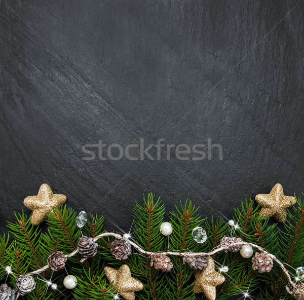 Christmas holiday background Stock photo © almaje