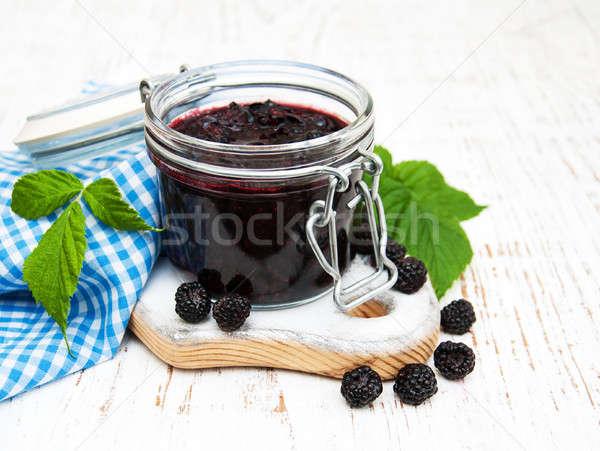 BlackBerry Jam свежие продовольствие Сток-фото © almaje