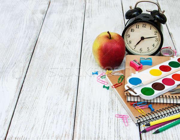school office supplies Stock photo © almaje