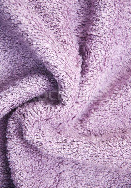 紫色 バス ふわっとした タオル ファブリック 色 ストックフォト © almaje