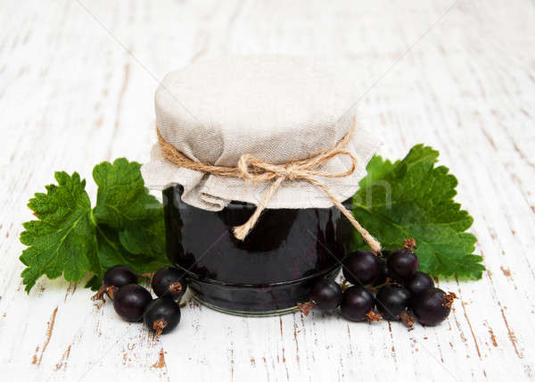 blackcurrants jam Stock photo © almaje