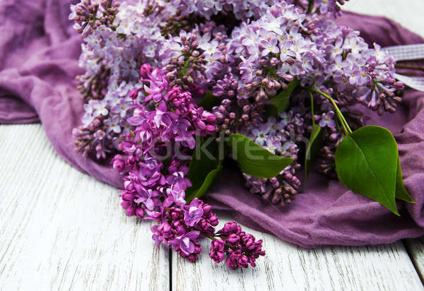 Stock photo: Lilac flowers