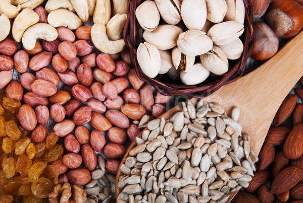 орехи изюм здорового органический природы Сток-фото © almaje