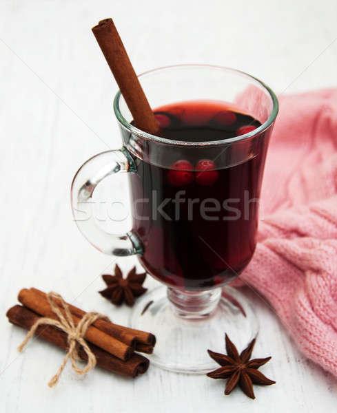 Stock photo: Mulled wine