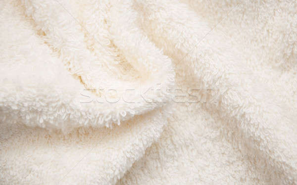 Banyo kabarık havlu kumaş renk spa Stok fotoğraf © almaje